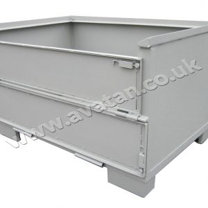 Euro Box Pallet Sheet Sides Half Gate