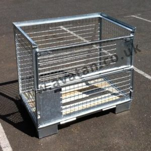 Euro Cage Pallet Galvanised Steel Stillage
