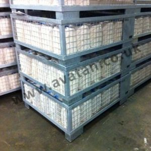 Euro Galvanised Cage Pallet for Cheese