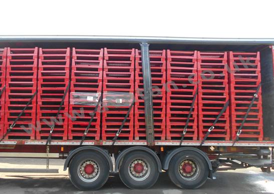 Folding Euro Steel Cage Pallets 270 Per Load