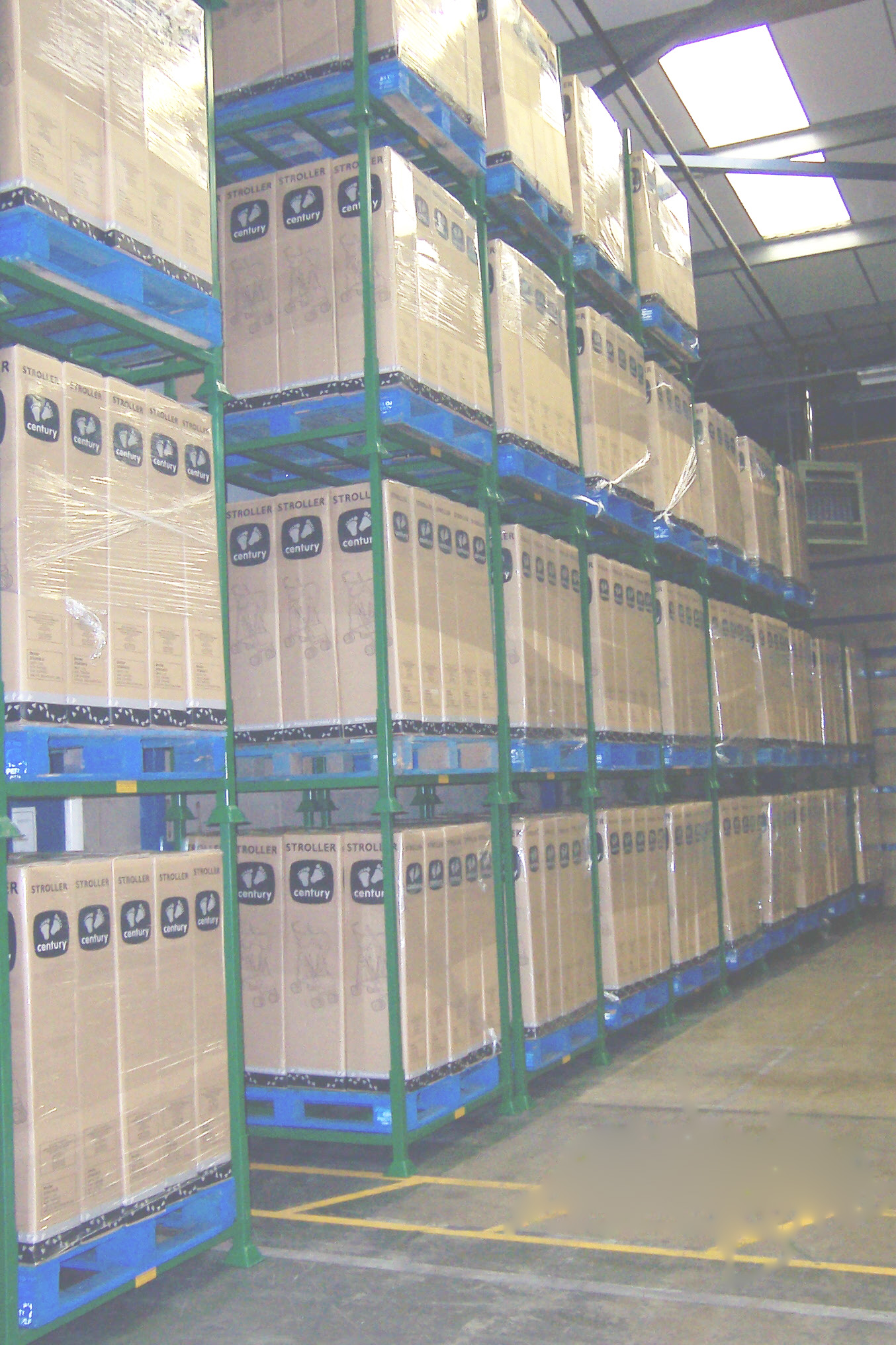 Postracks Flexible Post Pallet Alternative to Pallet Racking