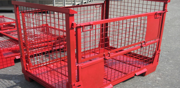 European Style Gitterboxes Cage Pallets In Stock